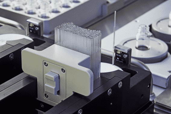 SWILE: Automated Powder Dispensing using disposable glass tips