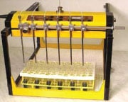 Automated parallel sampling - Collection rack