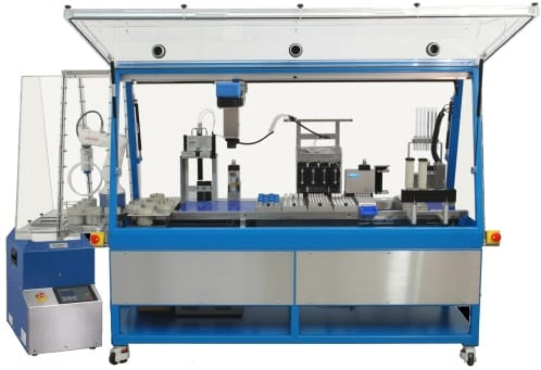 SWING MIXINGPOSSIBLE automated dispensing and mixing with SpeedMixer