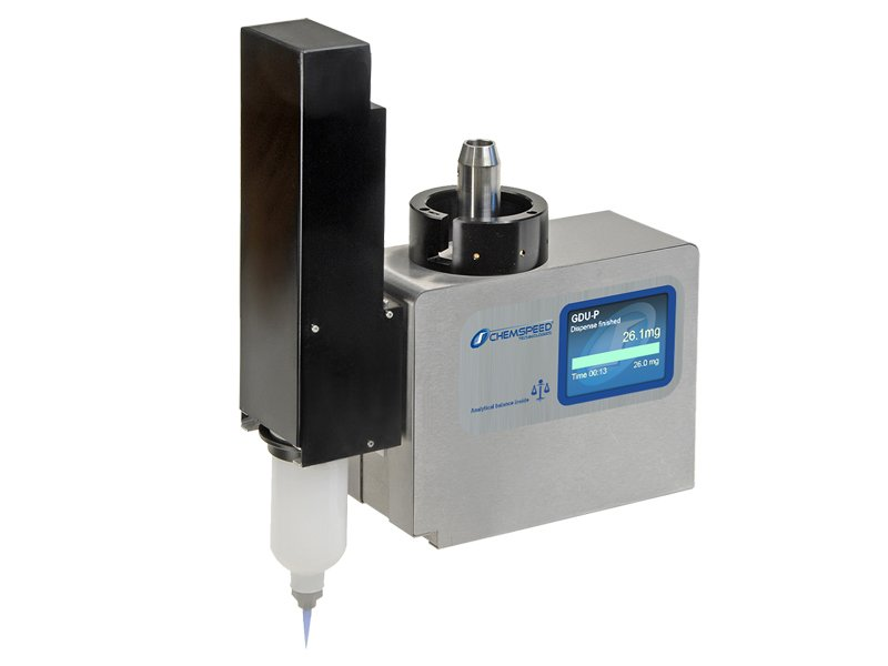 Overhead Gravimetric Dispensing Tool for Highly Viscous Liquids