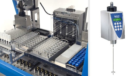 Automated Platform for Sample Preparation and Viscometry Measurements